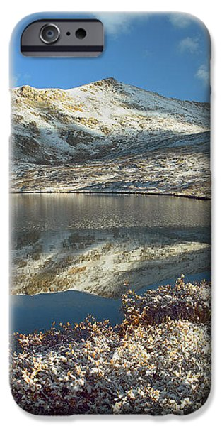Geissler Mountain And Linkins Lake iPhone Case by Tim Fitzharris