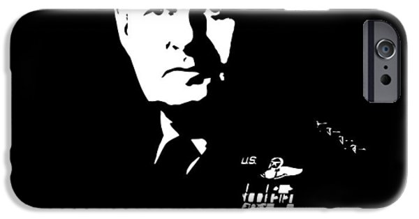 American History iPhone Cases - General Curtis Lemay iPhone Case by War Is Hell Store