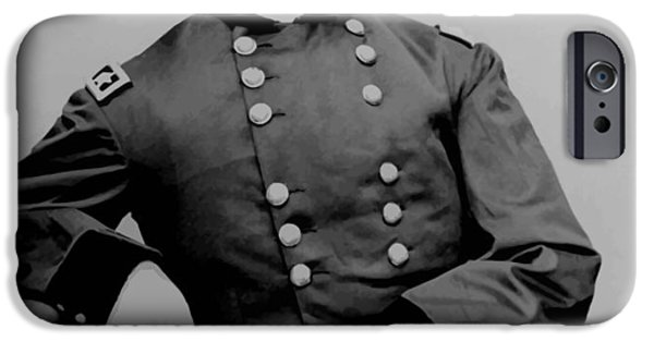 American History iPhone Cases - General Phil Sheridan iPhone Case by War Is Hell Store