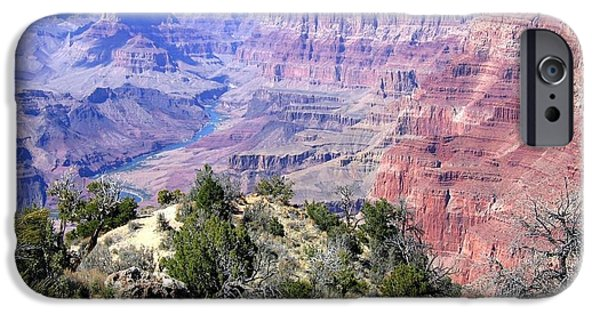 Grand Canyon iPhone Cases - Grand Canyon 8 iPhone Case by Will Borden