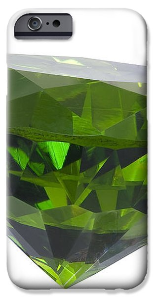 great emerald isolated iPhone Case by ATIKETTA SANGASAENG