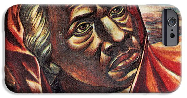 Antislavery iPhone Cases - Harriet Tubman, African-american iPhone Case by Photo Researchers