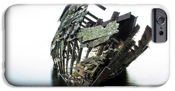 23 iPhone Cases - Harvey Neelon shipwreck so they say... iPhone Case by Jakub Sisak