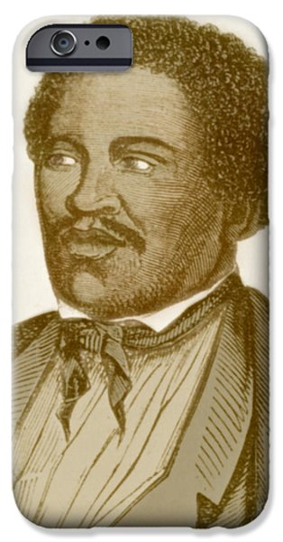 Henry Box Brown, African-american iPhone Case by Photo Researchers