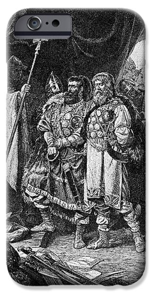 HENRY I (876-936) iPhone Case by Granger