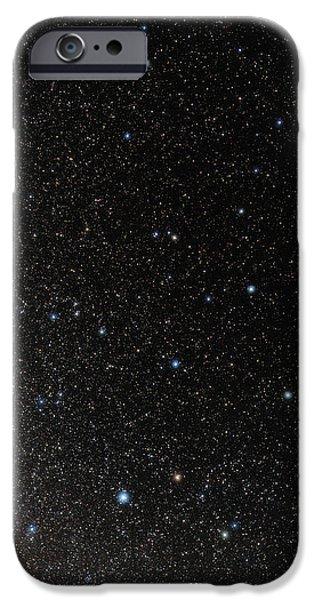 Hercules Constellation iPhone Case by Eckhard Slawik