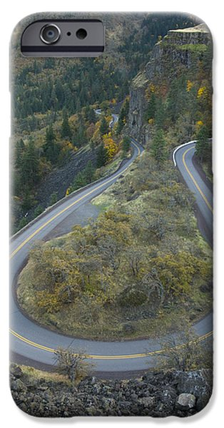 Historic Columbia River Highway iPhone Case by Alan Majchrowicz