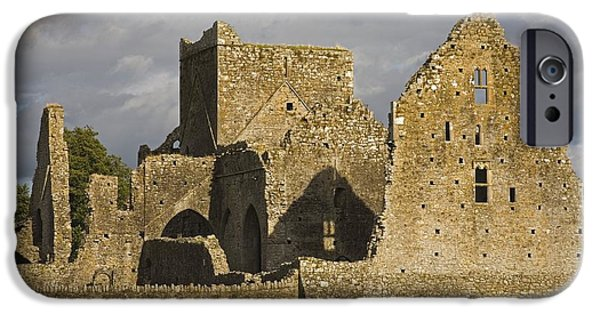 Cummins iPhone Cases - Hore Abbey, Cashel, County Tipperary iPhone Case by Richard Cummins