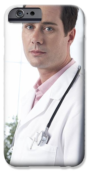 Medical Equipment iPhone Cases - Hospital Doctor iPhone Case by Adam Gault