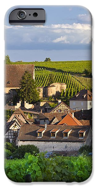 Hunawihr Alsace iPhone Case by Brian Jannsen