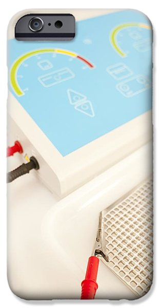 Iontophoresis iPhone Cases - Iontophoresis Equipment iPhone Case by