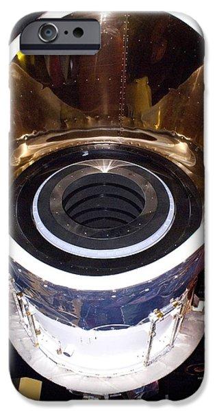 Iras Infrared Astronomy Satellite iPhone Case by Mark Williamson