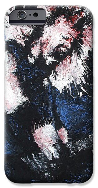 James Hetfield iPhone Case by Brian Carlton