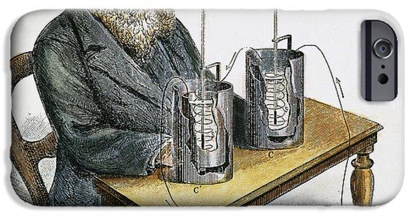 Prescott iPhone Cases - James P. Joule (1818-1889) iPhone Case by Granger