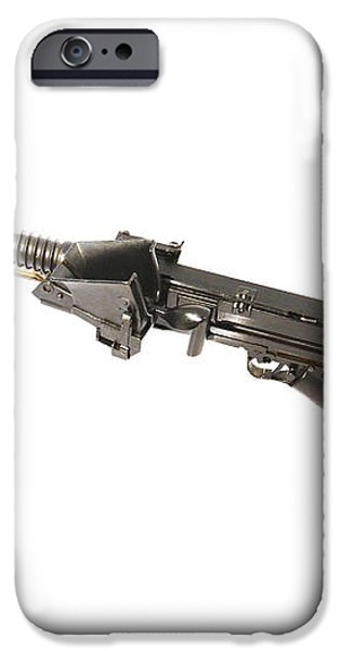 Japanese Type 11 Light Machine Gun iPhone Case by Andrew Chittock
