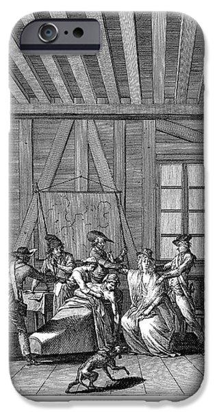 JEAN-PAUL MARAT (1743-1793) iPhone Case by Granger