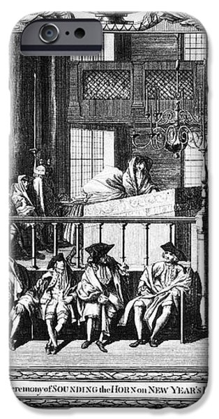 JEWISH LIFE, 18th CENTURY iPhone Case by Granger