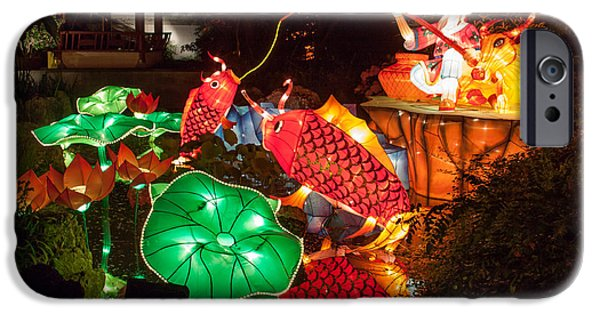 Installation Art Photographs iPhone Cases - Jiang Tai Gong Fishing iPhone Case by Semmick Photo