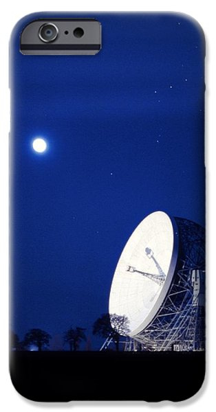 Jodrell Bank Observatory iPhone Case by Richard Kail