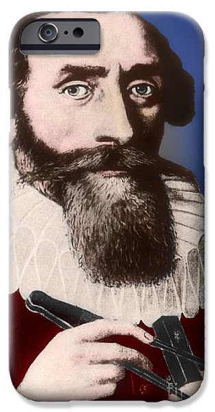 Johannes Kepler, German Astronomer iPhone Case by Science Source