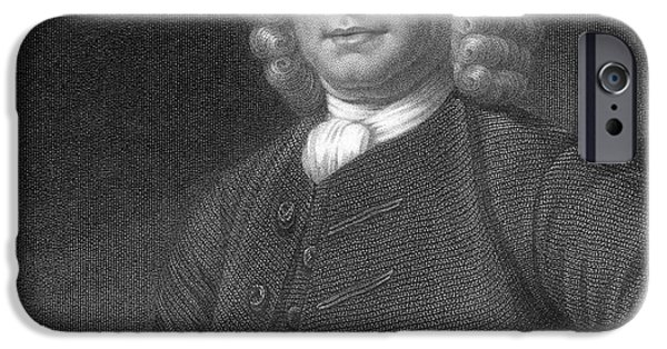 Self Discovery iPhone Cases - John Harrison, English Inventor iPhone Case by Photo Researchers