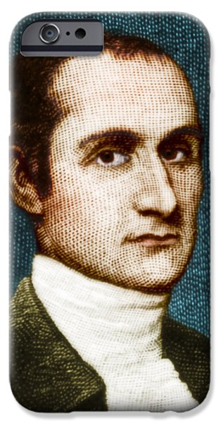 John Jay, American Founding Father iPhone Case by Photo Researchers