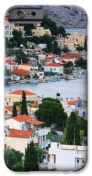 Lagada. Chios Greece  iPhone Case by Emmanuel Panagiotakis