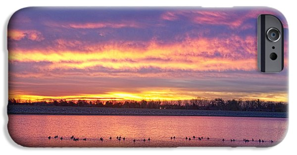 Epic iPhone Cases - Lagerman Reservoir Sunrise iPhone Case by James BO  Insogna