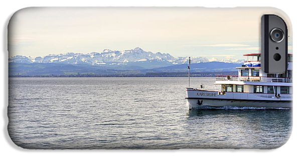 Waterway iPhone Cases - Lake Constance iPhone Case by Joana Kruse