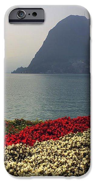 Lake Lugano - Monte Salvatore iPhone Case by Joana Kruse