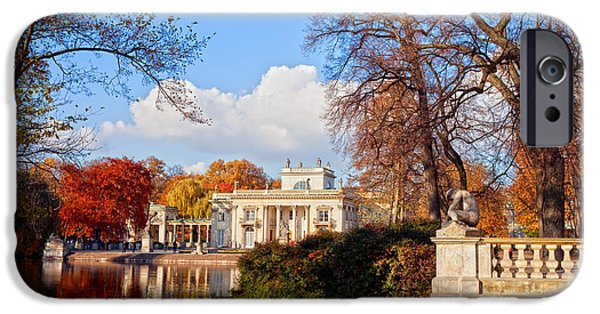 Polish Culture iPhone Cases - Lazienki Park in Warsaw iPhone Case by Artur Bogacki