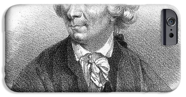 Autographed iPhone Cases - Leonard Euler (1707-1783) iPhone Case by Granger