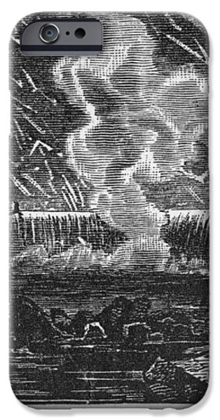LEONID METEOR SHOWER, 1833 iPhone Case by Granger