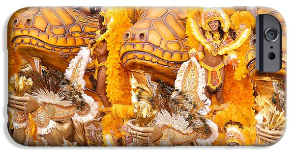 Celebration Photographs iPhone Cases - Lets Samba iPhone Case by Sebastian Musial