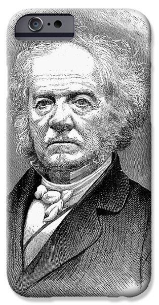 LEWIS TAPPAN (1788-1873) iPhone Case by Granger