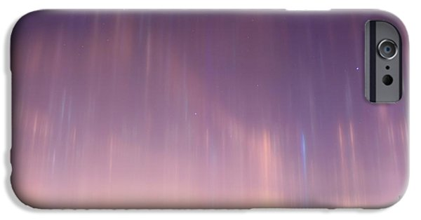 Refracted Light iPhone Cases - Light Pillars, Russia iPhone Case by Ria Novosti