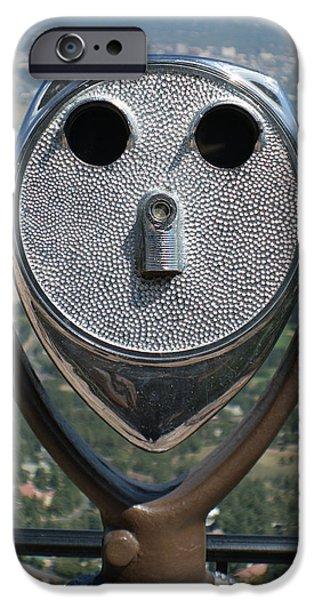 Look into my Eyes iPhone Case by Ernie Echols