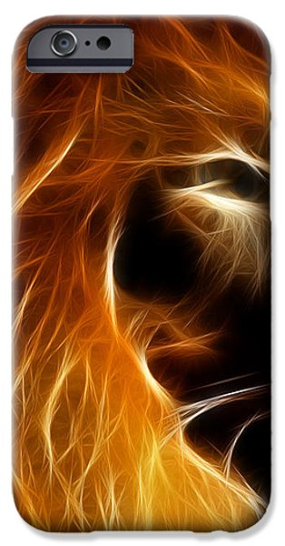 Lord Of The Jungle iPhone Case by Wingsdomain Art and Photography