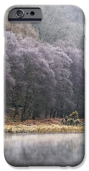 Lower Lake, Glendalough, County iPhone Case by Peter McCabe