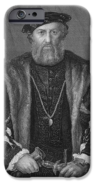 LUDOVICO SFORZA (1452-1508) iPhone Case by Granger