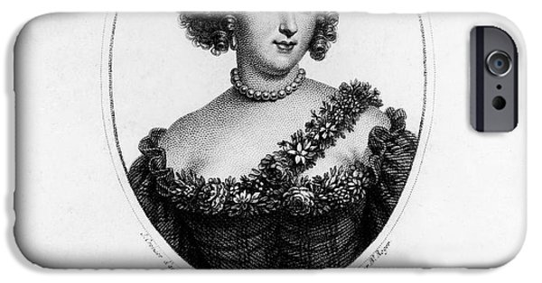 Duchess iPhone Cases - Marie-angÉlique De Rousille iPhone Case by Granger