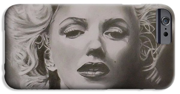 Munroe iPhone Cases - Marilyn Monroe iPhone Case by Mike OConnell