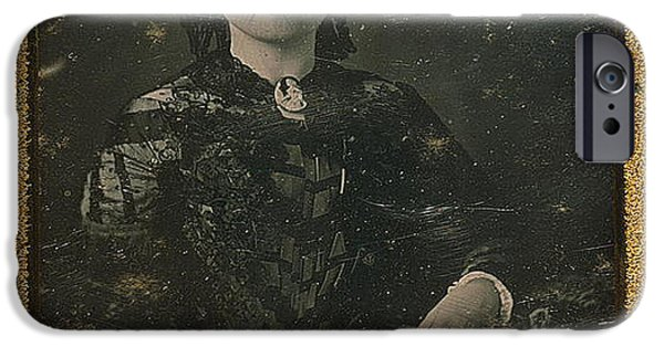 First Lady iPhone Cases - Mary Todd Lincoln, First Lady iPhone Case by Photo Researchers