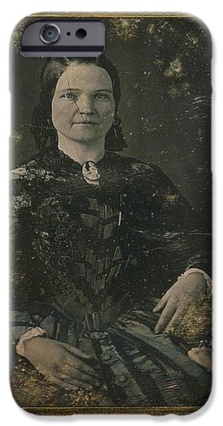 Mary Todd Lincoln, First Lady iPhone Case by Photo Researchers