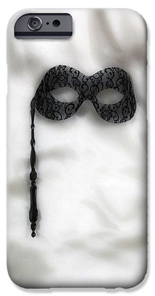 Masks iPhone Cases - Mask iPhone Case by Joana Kruse