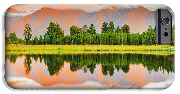 Nature Scene iPhone Cases - Matheson Lake iPhone Case by MotHaiBaPhoto Prints