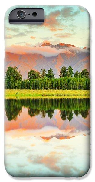 Matheson Lake iPhone Case by MotHaiBaPhoto Prints