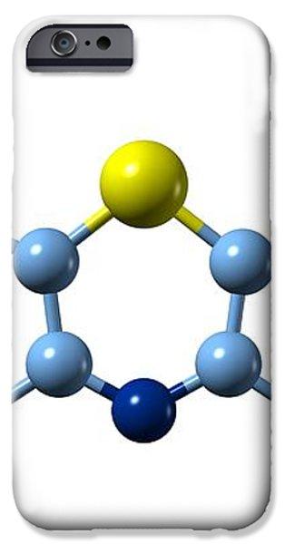 Methylene Blue, Molecular Model iPhone Case by Dr Mark J. Winter