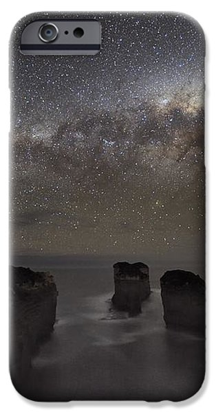 Milky Way Over Shipwreck Coast iPhone Case by Alex Cherney, Terrastro.com