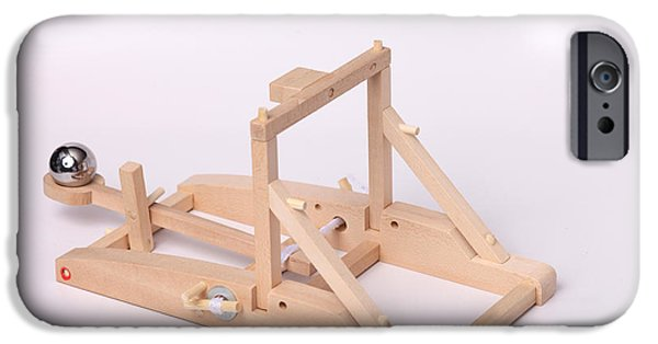 Energy Conversion iPhone Cases - Model Catapult iPhone Case by Ted Kinsman
